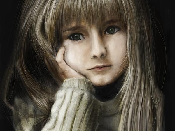 hand-paint-girl-child-2-600×450